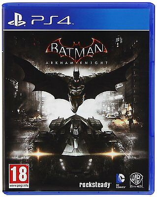 Batman Arkham Knight PS4 PlayStation 4 Game
