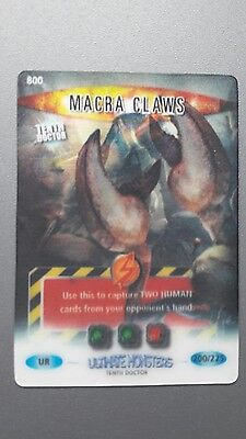 Doctor Who Battles in Time Ultra Rare card 800 MACRA CLAWS