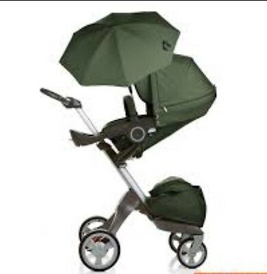 Stokke textiles For Xplory, Trailz And Crusi Changing Bag, Shopping Bag, Parasol