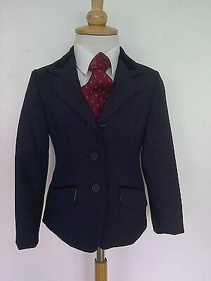 Childs Navy Cotswold Show Jacket Size 24""