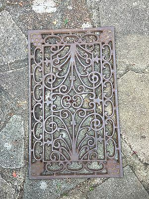 Victorian Cast Iron Door Mat