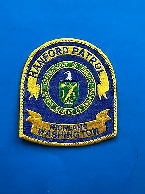 Vintage Department Of Energy Hanford Patrol Patch - Richland WA