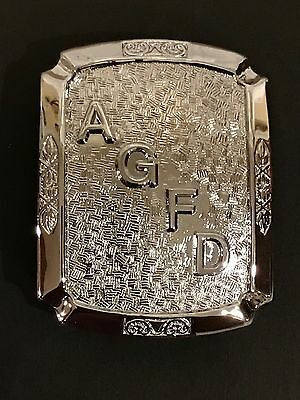 Arroyo Grande CA Fire Department Belt Buckle - Sun Badge Company