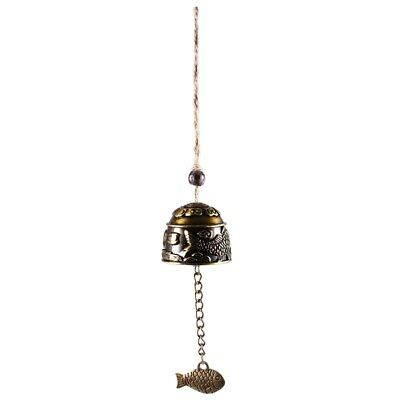 Chinese Traditional Dragon Feng Shui Bell Blessing Fortune Hanging Wind Chime PK