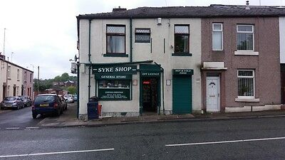 business for sale convenience store & off licence plus 1 bedroom flat Rochdale