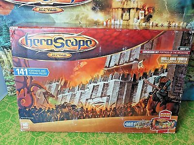 Heroscape Fortress of the Archkyrie Wall and Tower Building Pack - New In Box