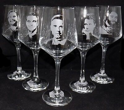 New 'TAKE THAT' Hand Etched Large Wine Glass - Choose a single or whole band!