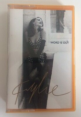 Kylie Minogue- Word Is Out - Cassingle - Australia