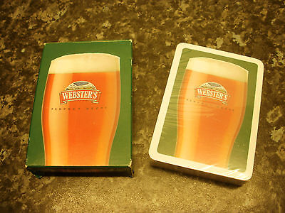old brewery  playing cards - Websters cards still sealed unused