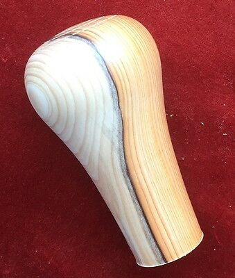 A Superior Stick Handle in BEAUTIFUL  ENGLISH YEW WOOD.