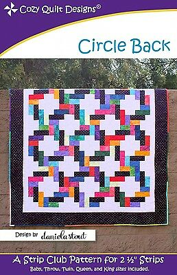 CIRCLE BACK QUILT PATTERN, From Cozy Quilt Designs NEW