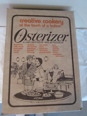 Vintage Osterizer Liquifier Blender By Oster-Factory Sealed