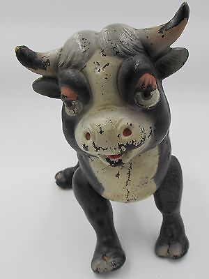 Vintage Disney Ferdinand The Bull Articulated Joint Composite Toy Ideal Novelty