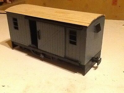 G45 short bogie parcel van for 16mm scale garden Railway