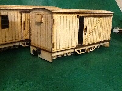 SM32 short bogie parcel van for 16mm scale garden Railway