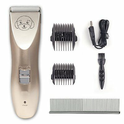 oneisall Low Noise USB Rechargeable Cordless Dog and Cat Clippers,Pet Greooming