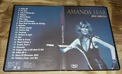 Amanda Lear - Video Collection 1975-2006 DVD (SPECIAL FAN EDITION)