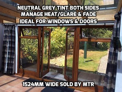 Non Reflective Window Film - Neutral Both Sides -Keep Heat In/Out - DIY - By Mtr