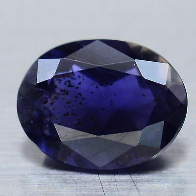 2.19 Ct Natural! Purple Madagascar Iolite Oval