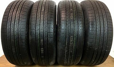 Set of 4 Full Tread Hankook Dynapro HP2 235/65/R17 235 65 17 Tires -Driven Once