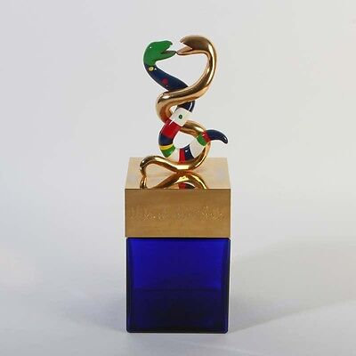 TOP Niki de Saint Phalle 1982 Parfum factice aux deux serpents géant GROß HUGE
