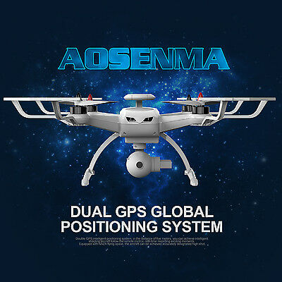 AOSENMA CG035 Brushless Double GPS 5.8G FPV With 1080P HD Gimbal Camera