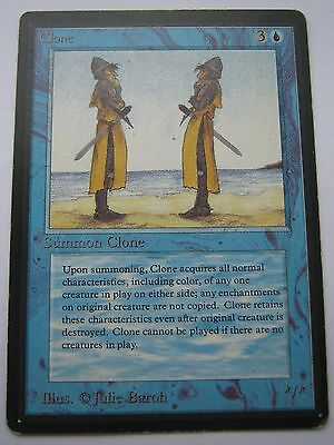 CLONE - BETA Magic The Gathering Card - MTG