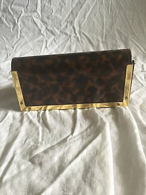 Tory burch tortoise magnetic glasses case great for your Tory sunglasses!!
