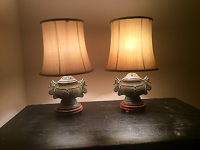 Chinese Bronze Lamps / Antique Lamps  / Vintage Lamps / Bronze Lamps / Lamps