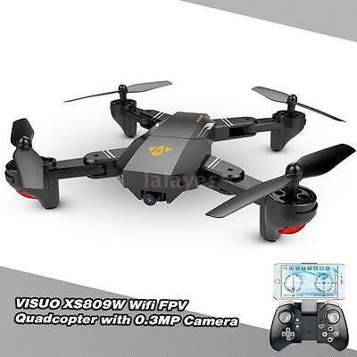 VISUO XS809W Upgraded Version 2.4G Foldable RC Quadcopter Wifi FPV Selfie Drone