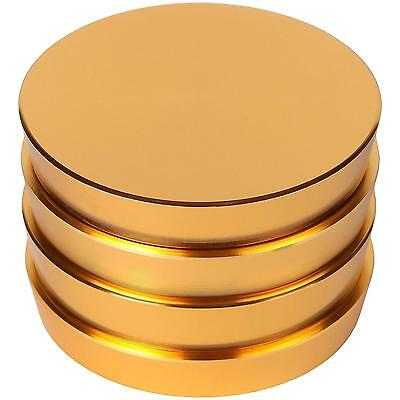 Zip Grinders Pagoda Tower Spice and Herb Grinder Four Piece with Pollen...