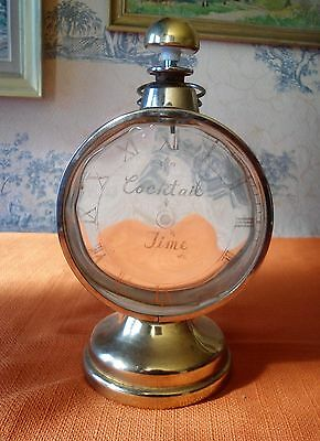 Bouteille Carafe Musicale Musical Decanter Cocktail Time Horloge Lac Des Cygnes