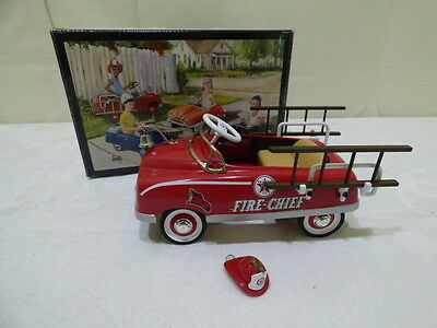 Crown Premiums Texaco Fire Chief Fire Engine Pedal Car First Production Run