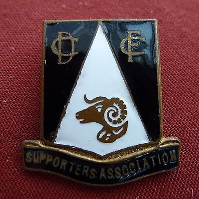 VINTAGE DERBY COUNTY SUPPORTERS' ASSOCIATION LAPEL BADGE - 1960s