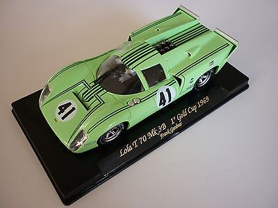 Fly 1/32 Gold Cup Lola T70 Mk3B #41 Oulton 1969 - C39 - Slot Car New old Stock