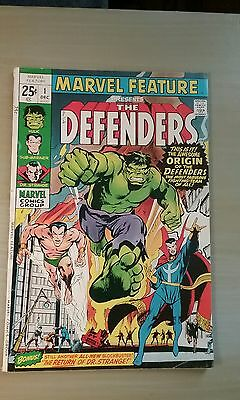 Marvel Feature #1 1St. Appearence/origin The Defenders (1971) Vg To Vg+ Netflix