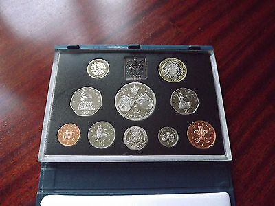 1997 Proof Set - Duel Size 50P - Great 20Th Birthday / Anniversary Gift