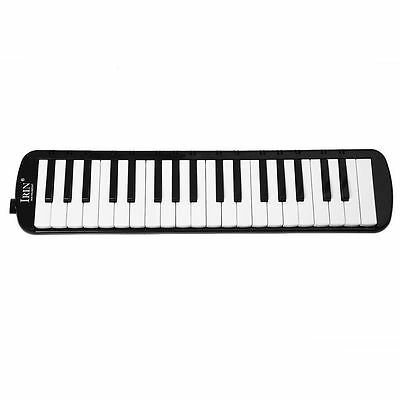 IRIN Black 37 Piano Keys Melodica Pianica w/Carrying Bag For Students New P1L7