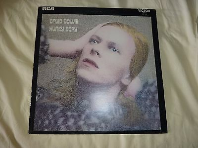 David Bowie Hunky Dory Vinyl Lp Disc Near Mint