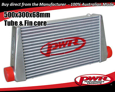 "PWR Universal Aero2 Intercooler 500 x 300 x 68mm core with 3"" Outlets PWI5579"