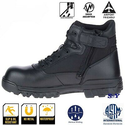 Bates Tactical Pro boots Military Army NO Metal Airport Friendly Slip resistant