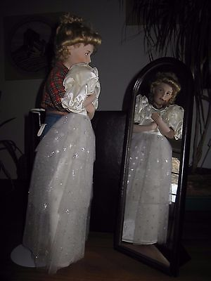 "Danbury Mint  Norman Rockwell ""prom Dress"" Porcelain Doll"
