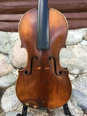 Antique Violin For Restoration
