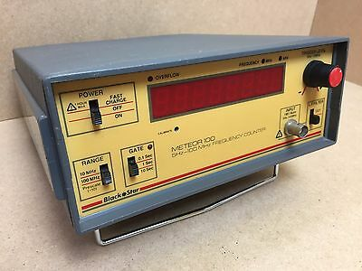 BLACK STAR METEOR 100 5hz-100MHz FREQUENCY COUNTER
