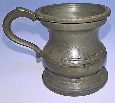 Vintage/Antique Pewter Spirit Measure
