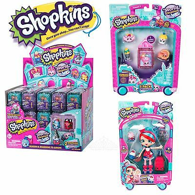 Shopkins Season 8 World Vacation--Just Released Products!  Free Shipping!