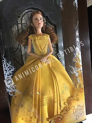"""Disney Store Beauty & The Beast BELLE FILM COLLECTION DOLL 11.5"""" Live Action NEW"""