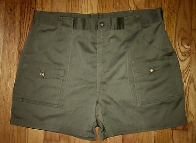 Boy Scouts Of America Shorts Vintage Made In USA (w Boy Scouts Buttons)