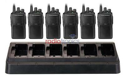 Motorola Vertex Standard VX-261 / VX261 6 Two Way Radio Package (Six Radios)