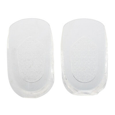 Invisible Gel 1cm up Height Taller Shoes Heel Insoles Clear PK